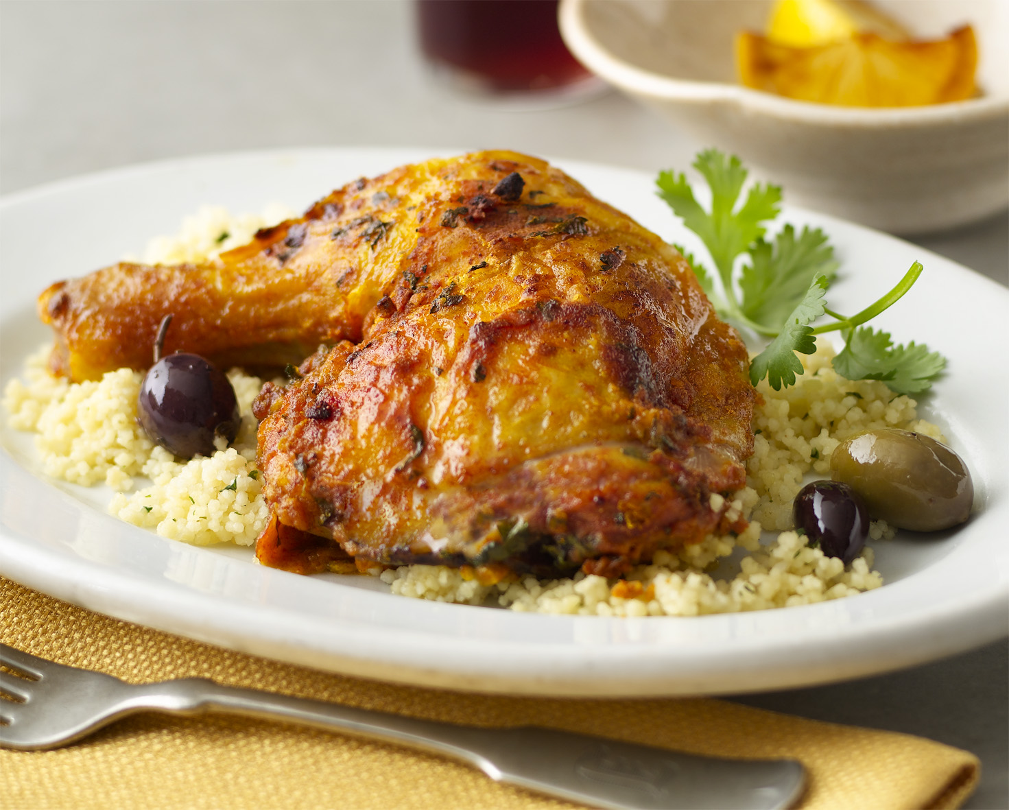 moroccan chicken tagine with cranberry curry couscous moroccan chicken ...