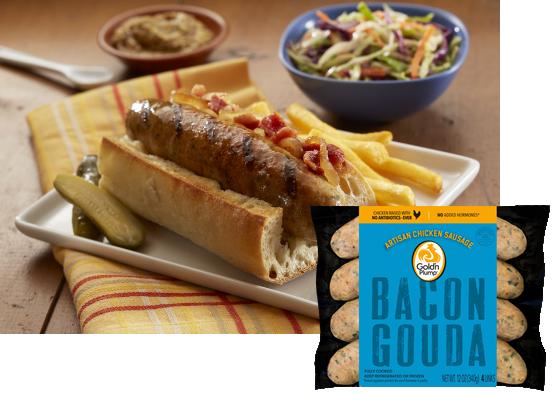Bacon Gouda
