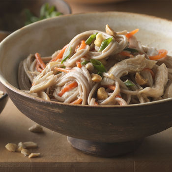 Peanut Chicken Take-Out Noodles
