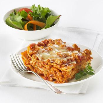 Weeknight Ground Chicken Lasagna View Recipe