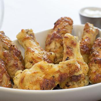 Parmesan Chicken Wingettes & Drummettes View Recipe